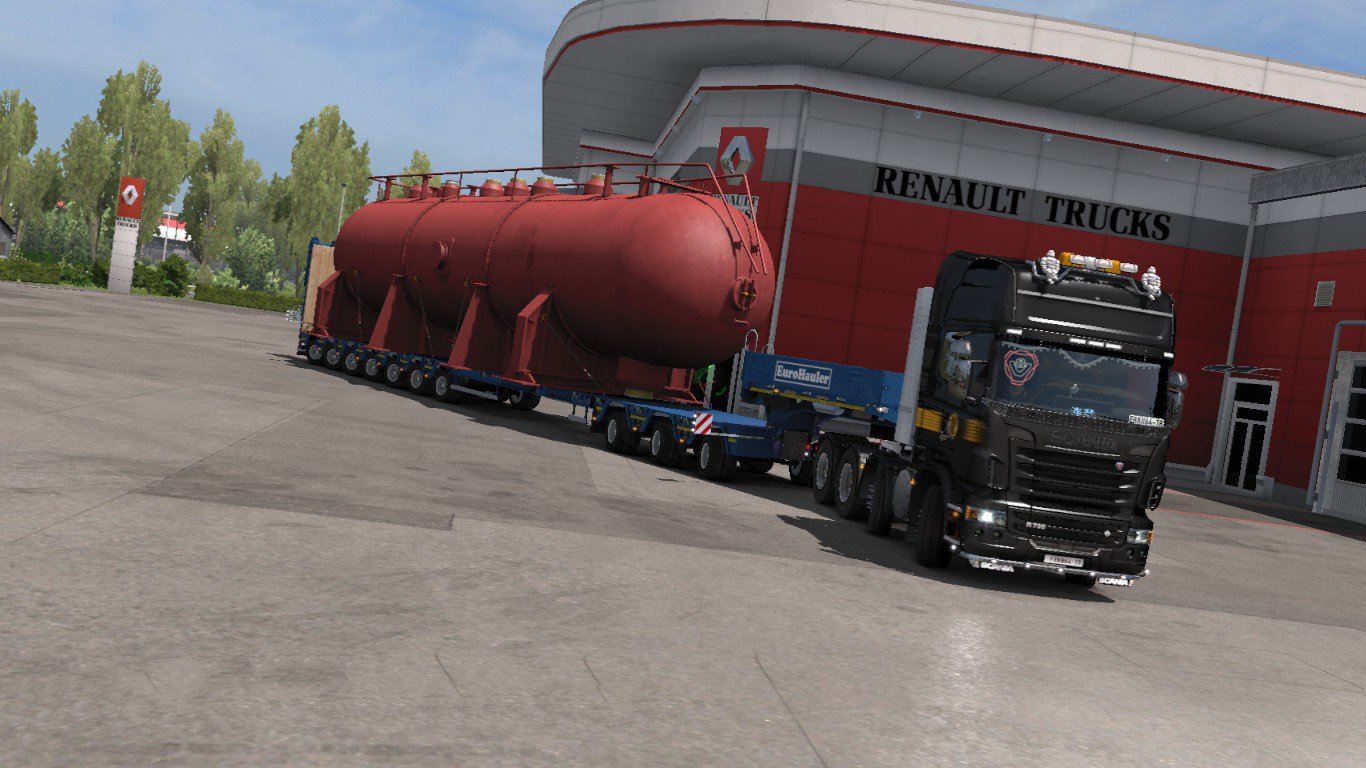 Ets2 Mods Trailers Wheel, Free Driving Add On For Special Transport Dlc V 32 X, Ets2 Mods Trailers Wheel