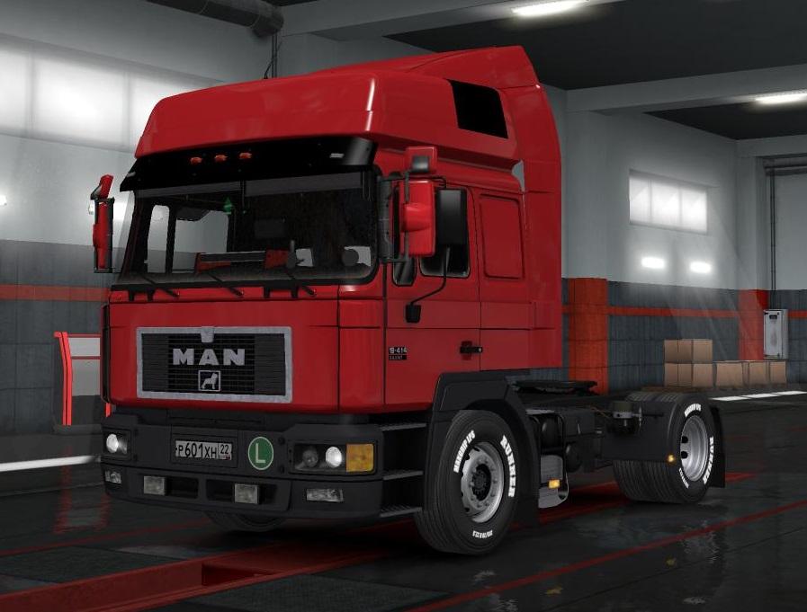 Truck Package 1 35 x | ETS2 mods | Euro truck simulator 2
