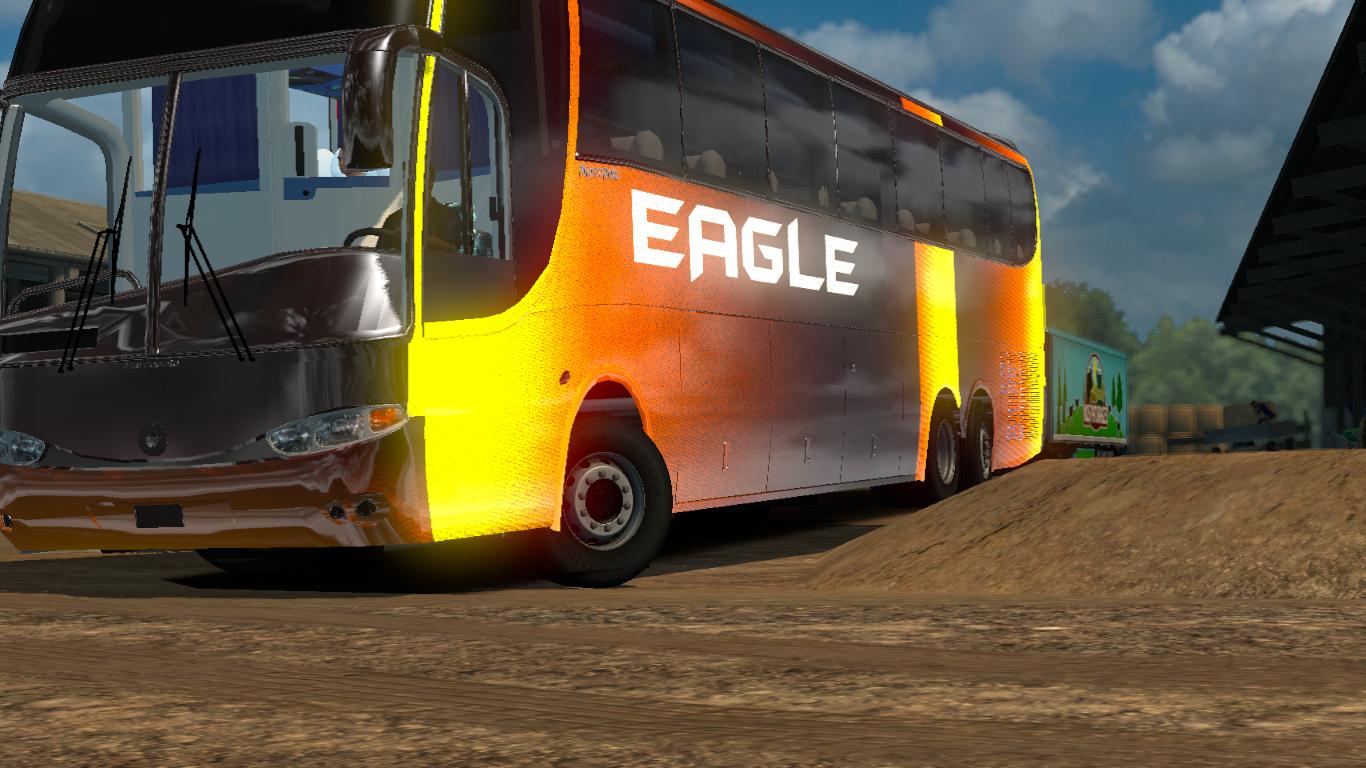 Mercedes Benz | Eagle Bangladeshi Bus (1 27 x) | ETS2 mods