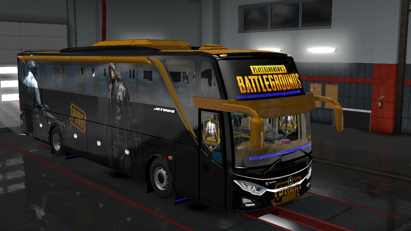 Pubg Skin For Indonesia Jetbus 3 Hdd Bus In Ets2 Ets2 Mods