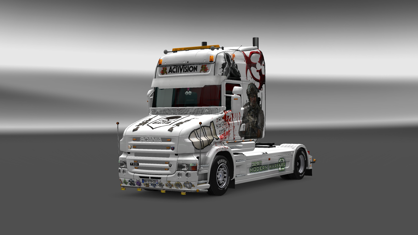 Scania T Call Of Duty Skin Ets2 Mods Euro Truck