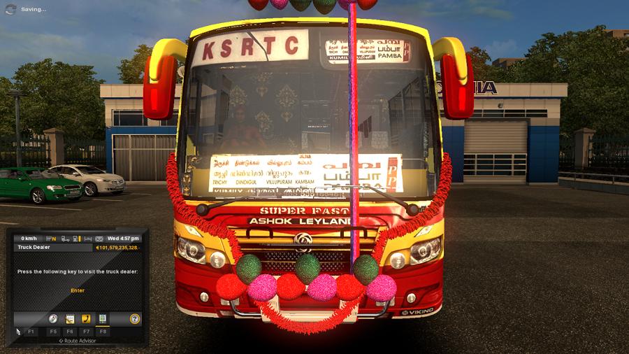 Kerala KSRTC Super Fast bus Traffic   ETS2 mods   Euro truck
