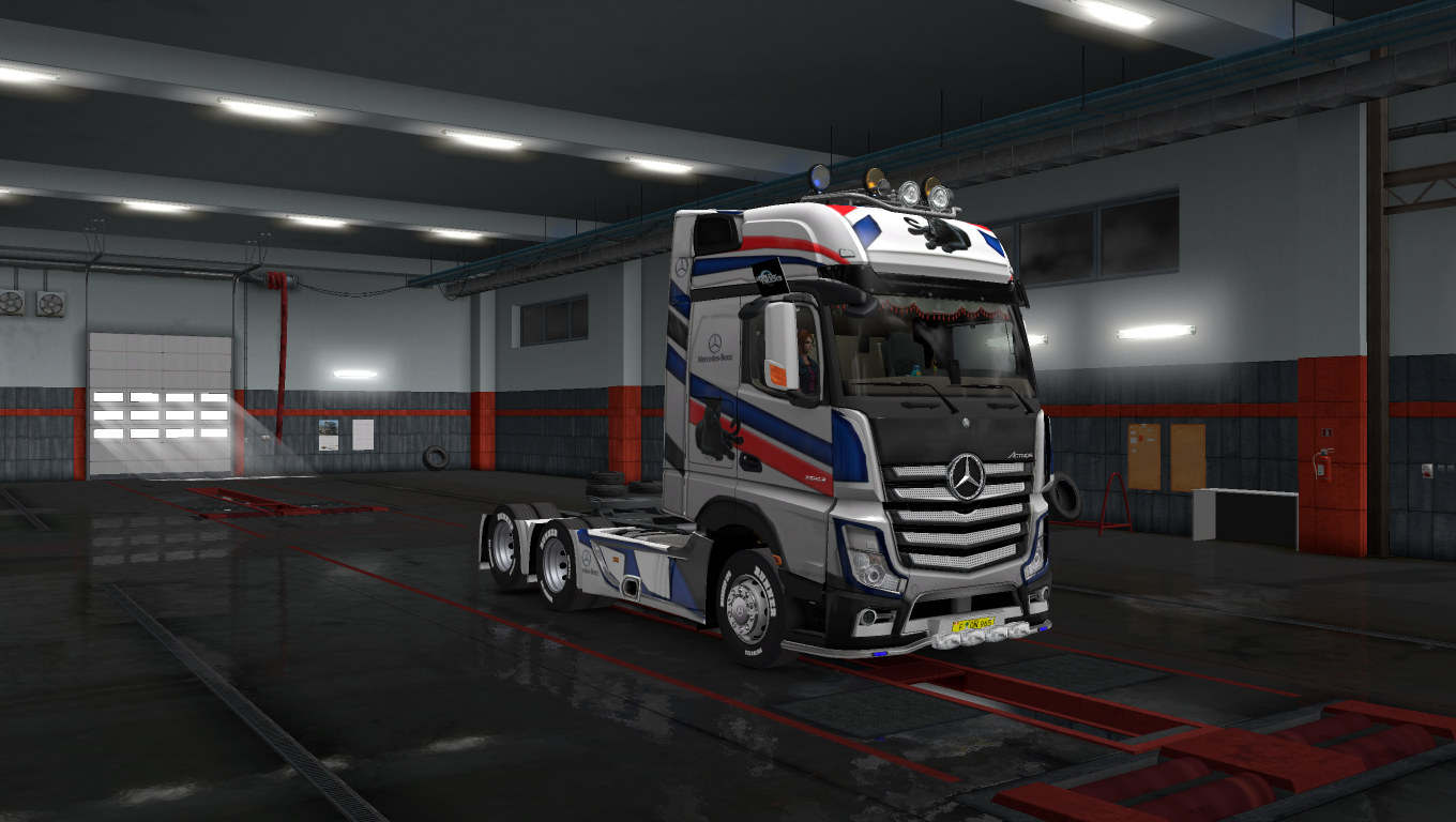 Mercedes actros mp4 heavy truck skin panther speed 4k ets2 mods euro truck simulator 2 mods ets2mods lt