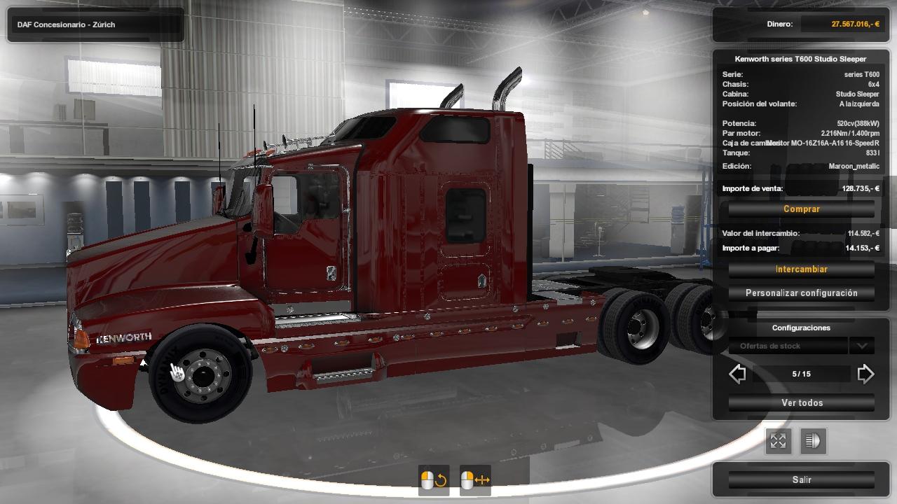 PACK USA TRUCKS ETS2 1 34 | ETS2 mods | Euro truck simulator