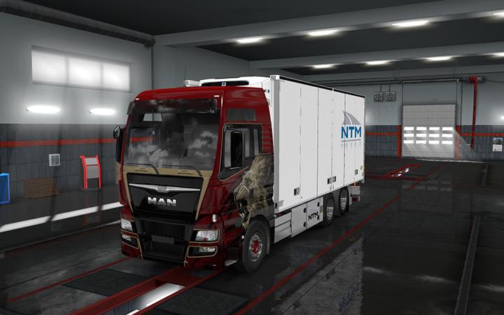 Rigid chassis pack for all SCS trucks - V 1 0 | ETS2 mods
