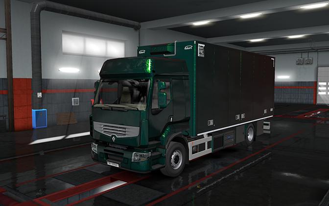 Rigid chassis pack for all SCS trucks - V 1 1 | ETS2 mods