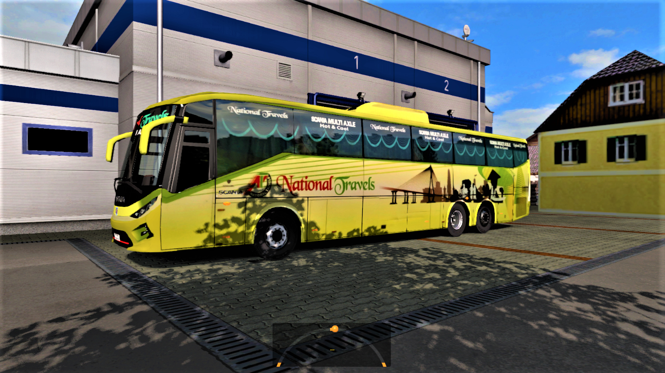 SKS Buspack For 1 35 [ Updated ] | ETS2 mods | Euro truck