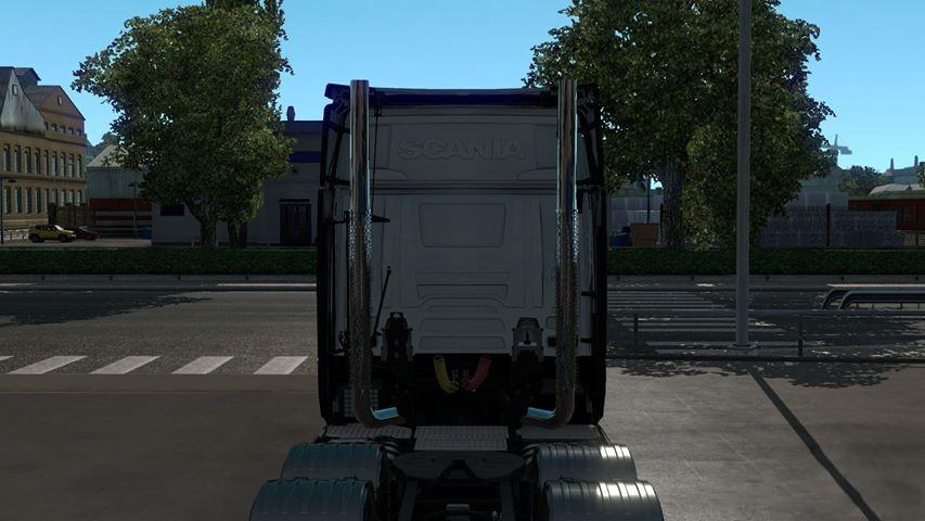 SCANIA S & R VERTICAL EXHAUST PIPES 1 34 X | ETS2 mods | Euro truck