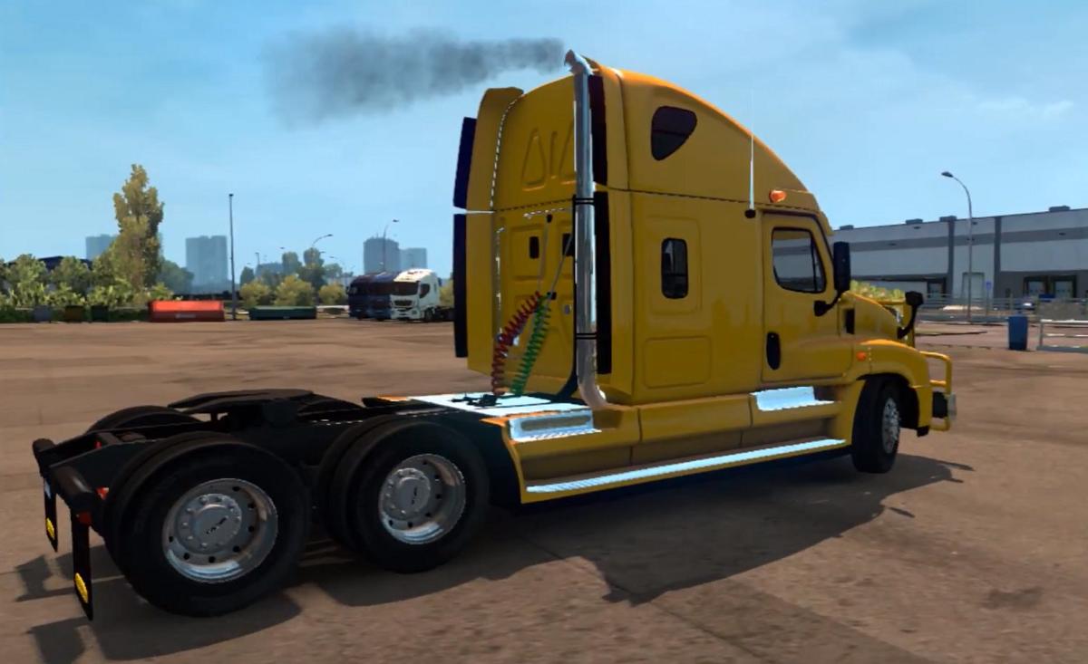 FREIGHTLINER CASCADIA V1 5 (1 28 x) | ETS2 mods | Euro truck