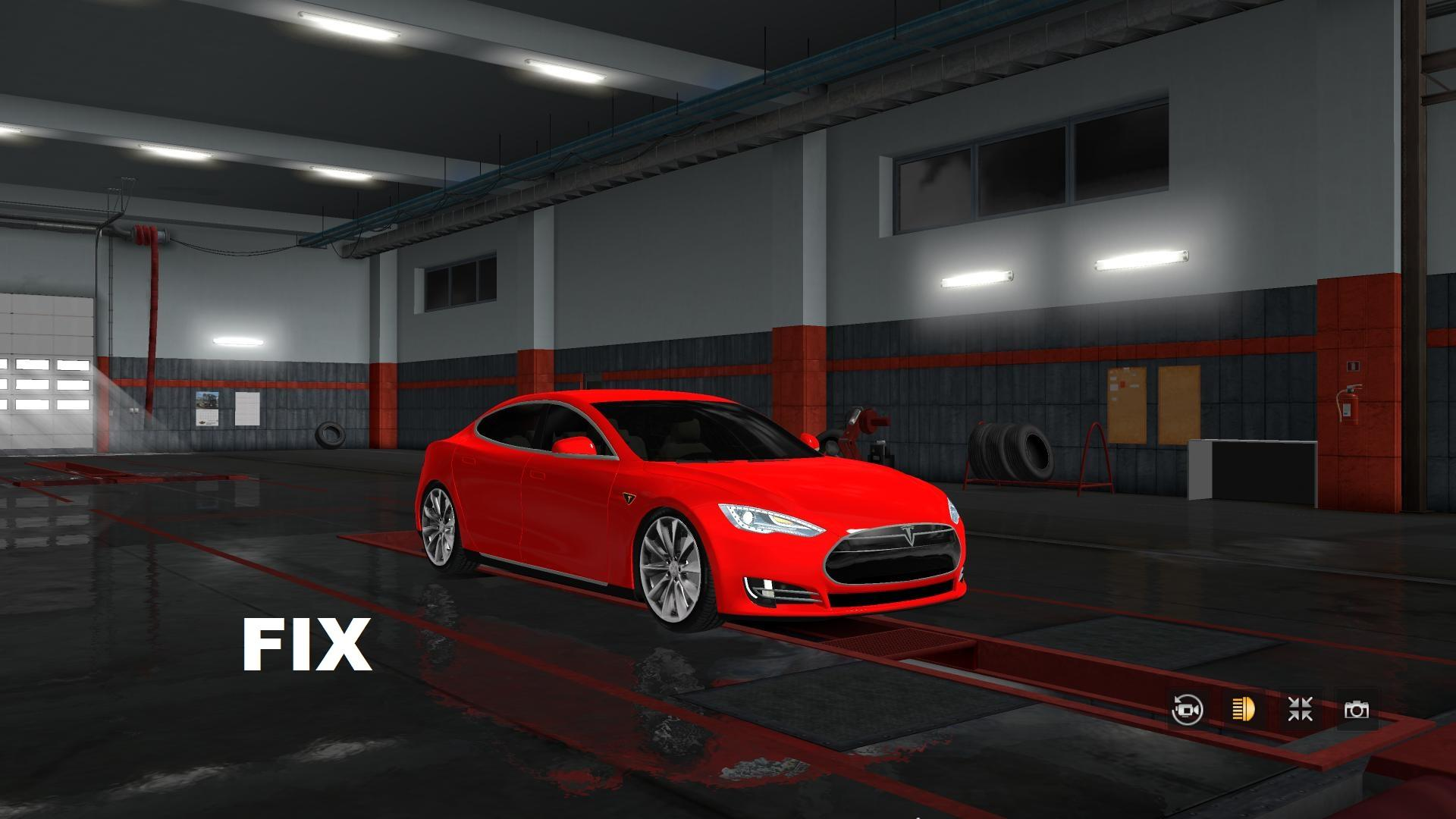 Tesla Model S + fix [1 32 x] | ETS2 mods | Euro truck