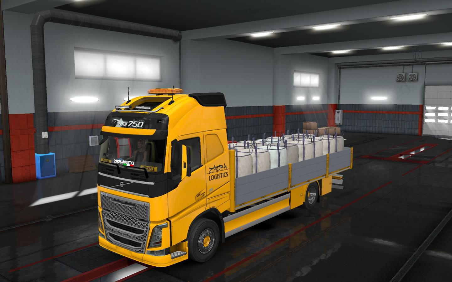 FLATBED ADDON FOR TANDEM FOR RIGID CHASSIS PACK FOR ALL SCS