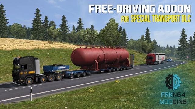 Ets2 Mods Trailers Wheel, Free Driving Addon For Special Transport Dlc Beta, Ets2 Mods Trailers Wheel