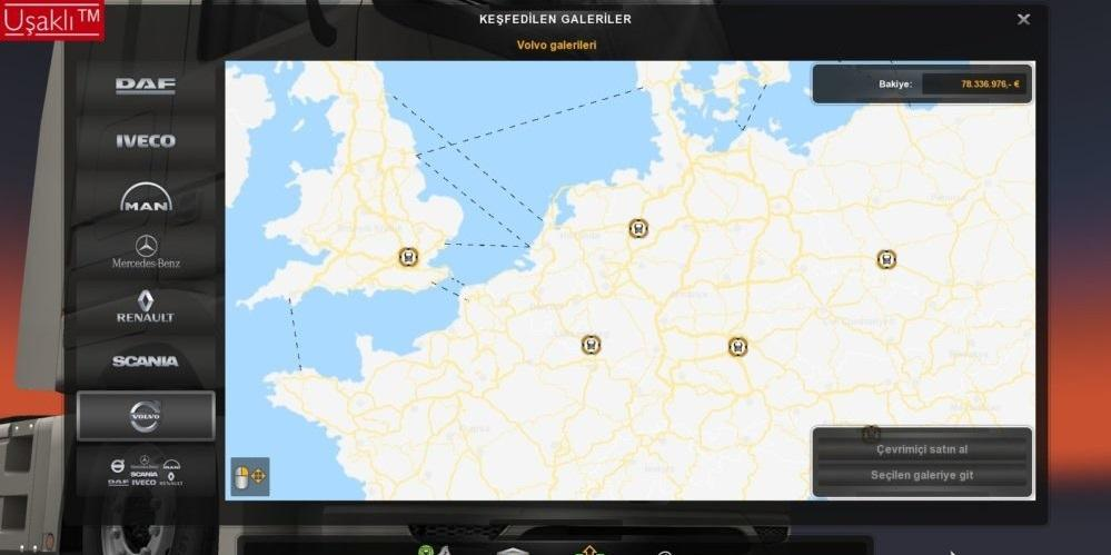 Google Maps View for World Map 1 31 x | ETS2 mods | Euro truck