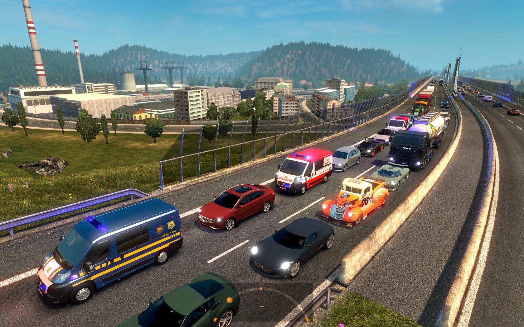 Real Traffic Density v3 0 by Cip (update 15-Oct-17) | ETS2