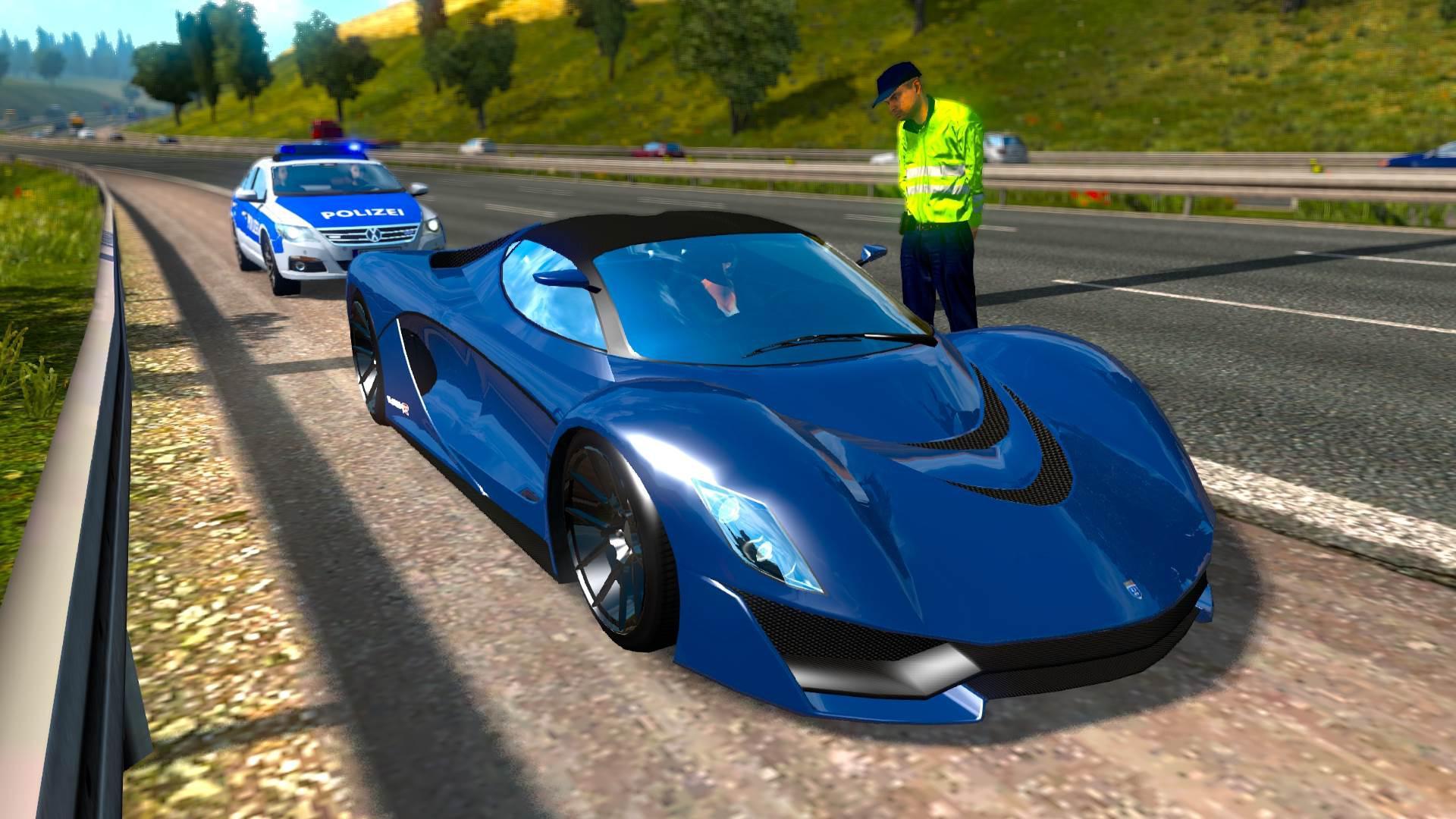 Cars On Line >> Gta V Cars In Ets2 Traffic Pack V1 0 1 34 X Ets2 Mods