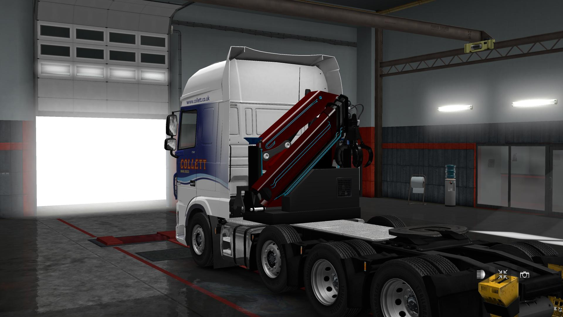 Heavy Haulage Chassis For Daf Xf Euro 6 Scs V1 4 1 30 X