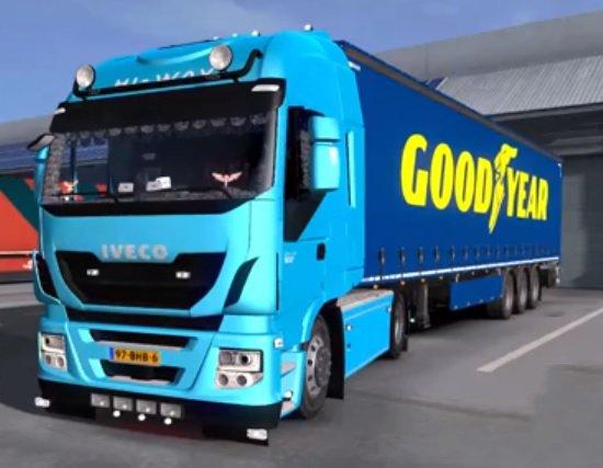 Iveco Hi Way Custom Mod 1 35 x | ETS2 mods | Euro truck simulator 2