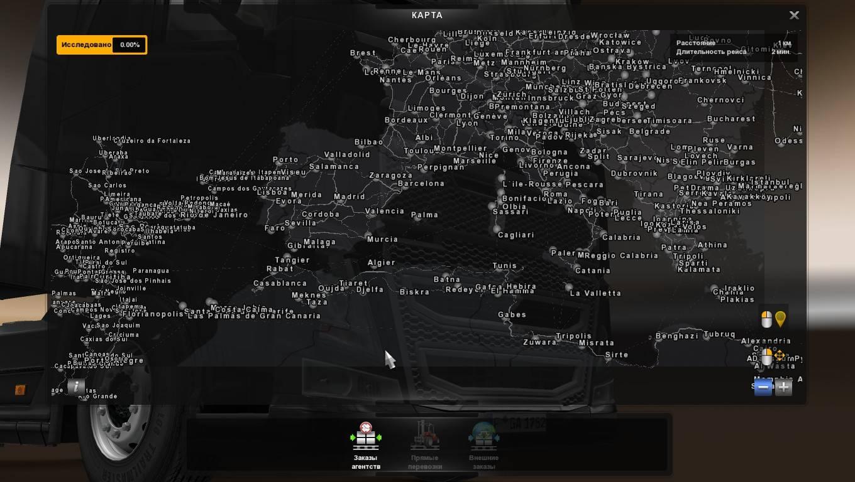 Скачать мод карту евро трек симулятор 2