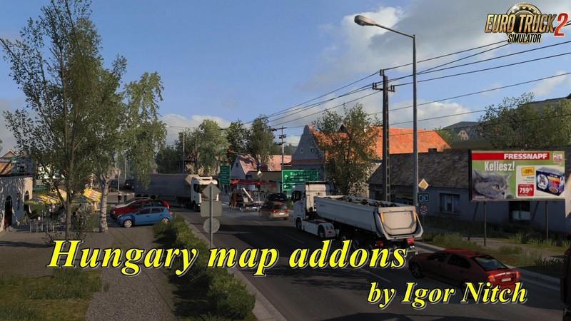 Hungary Map Addons v2 2 35 by Igor Nitch 1 35 x | ETS2 mods