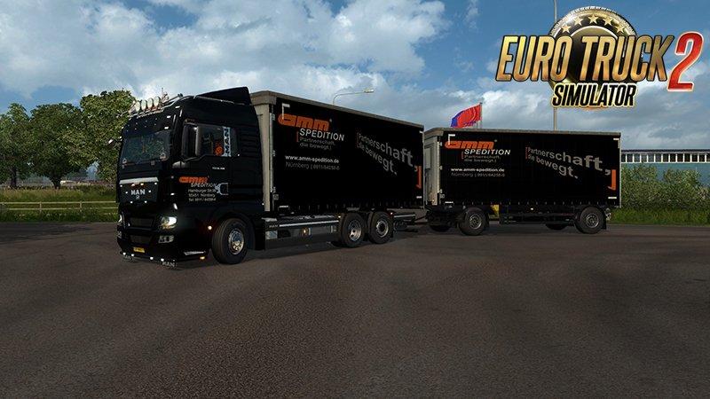 MAN TGX 2010 v 3 9 (1 28 x) | ETS2 mods | Euro truck