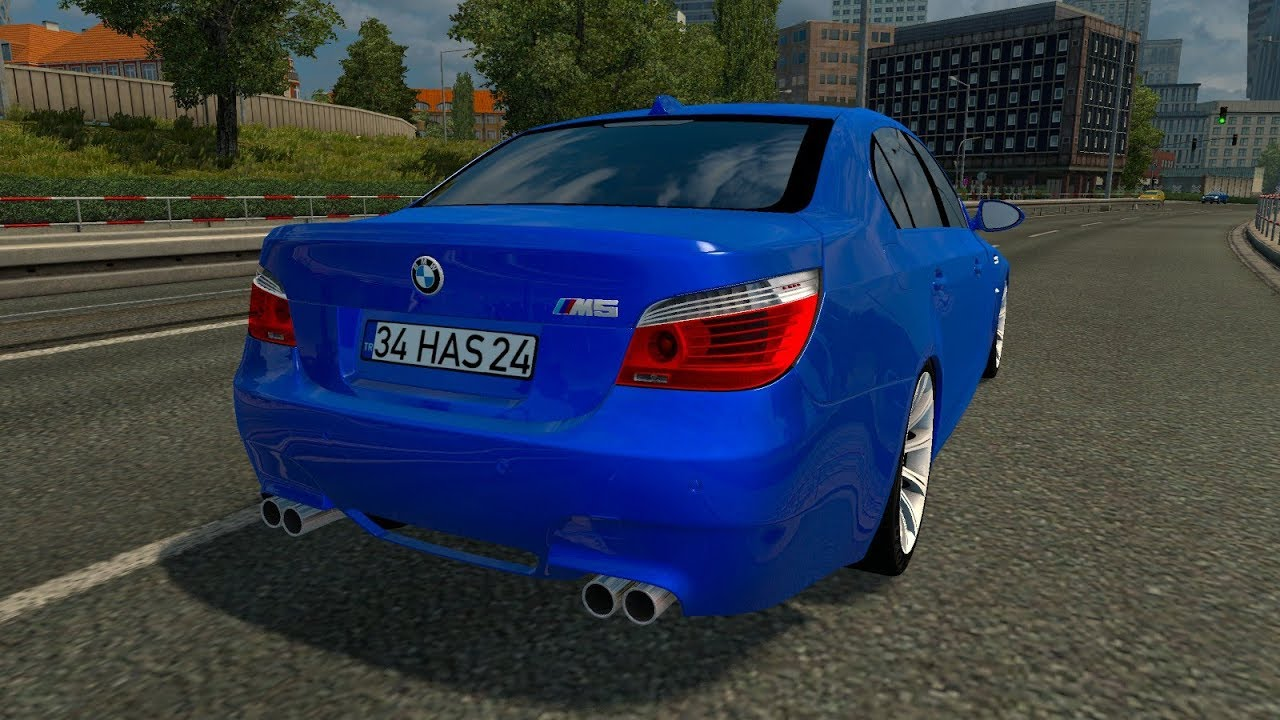 Bmw 5 Series E60 Pack Re Improved Fix 131x Ets2 Mods Euro