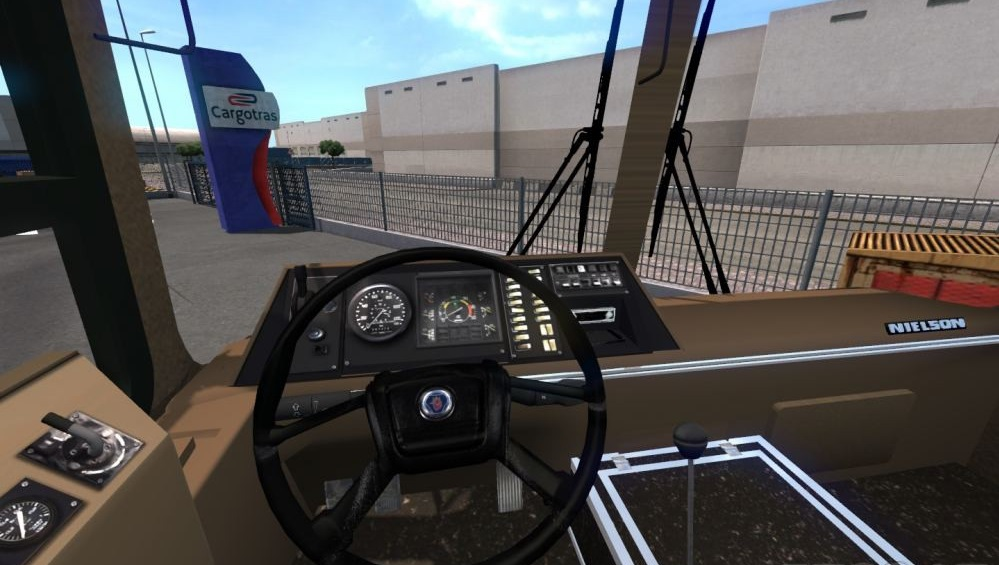 Scania Nielson 250 1 35 x   ETS2 mods   Euro truck simulator