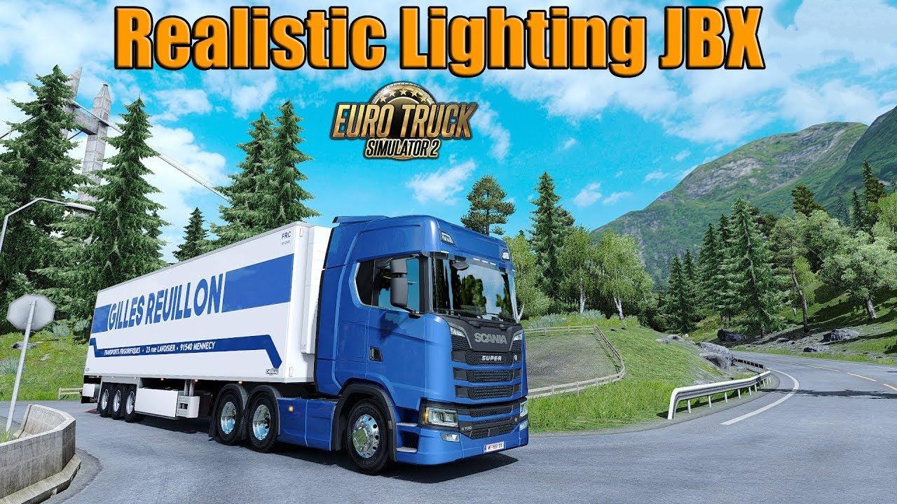 Realistic Lighting 2 JBX – Preset v 1 9 8 (Reshade v 3 4 1) | ETS2