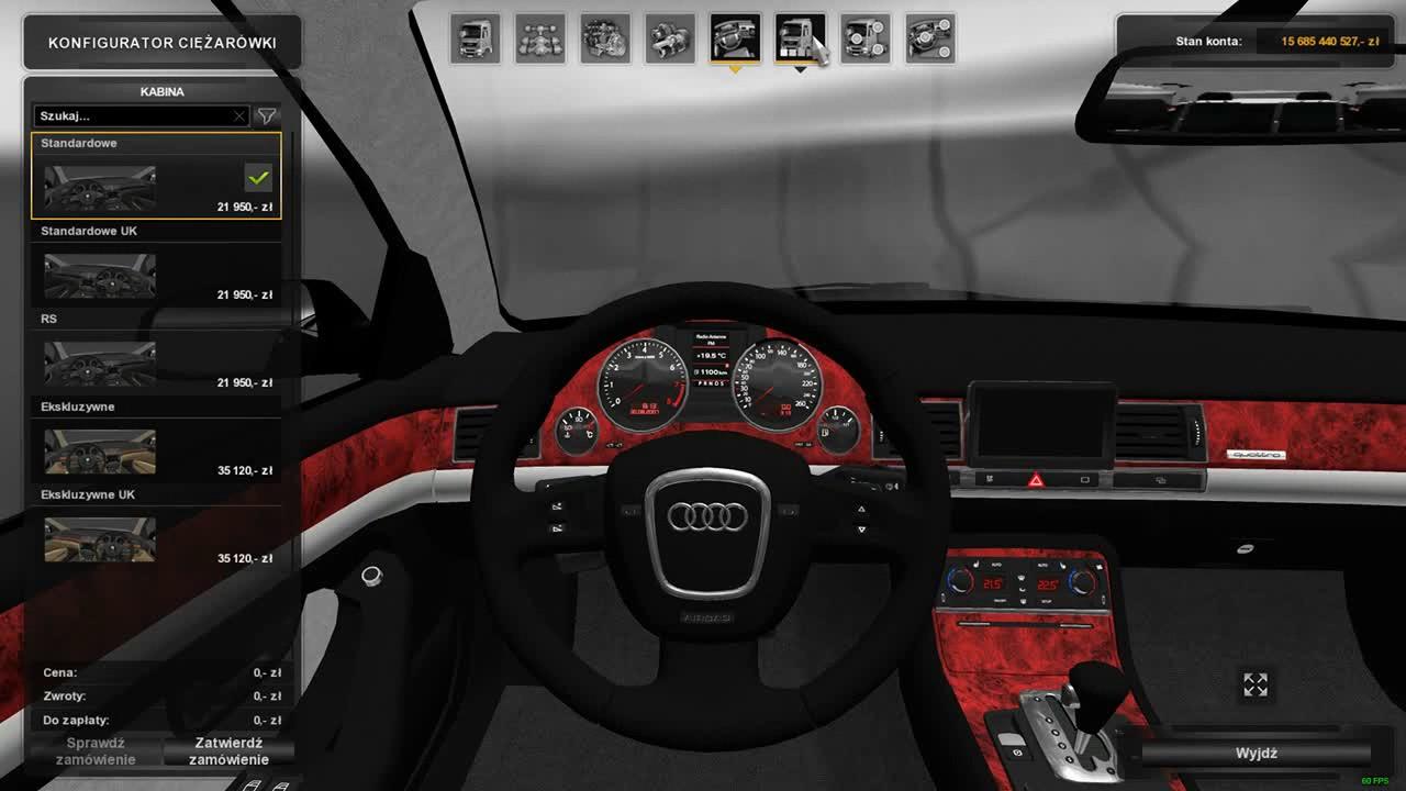 audi s8 2004 ets2 mods euro truck simulator 2 mods ets2mods lt. Black Bedroom Furniture Sets. Home Design Ideas
