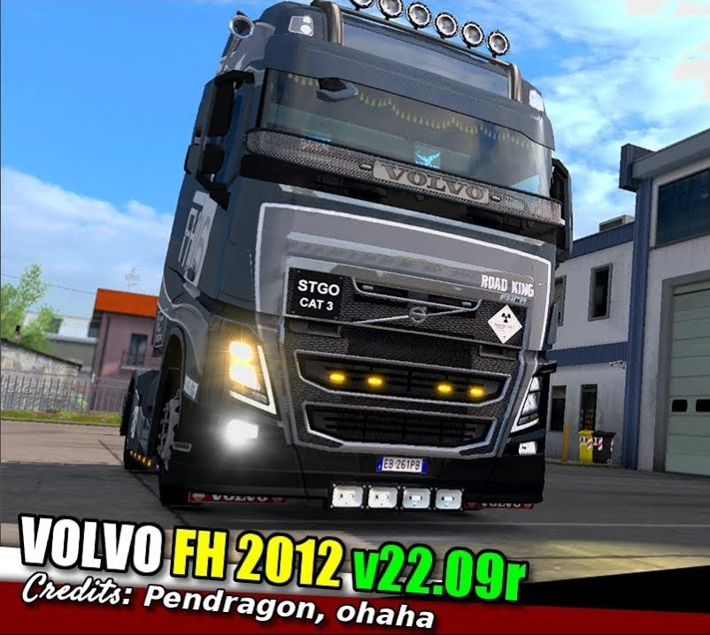 Volvo Truck Dealer >> Volvo Fh16 Truck Dealer Fix 1 34 X Ets2 Mods Euro