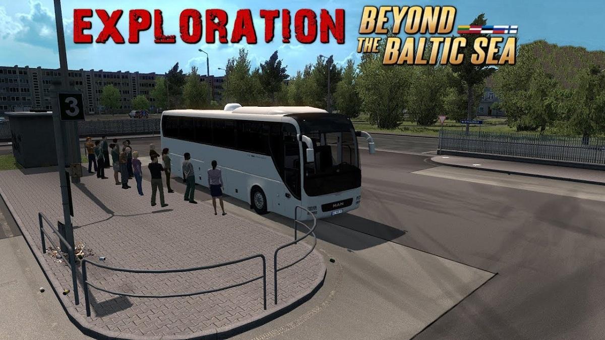 Bus Terminal Passenger Mod 1 33 x | ETS2 mods | Euro truck simulator
