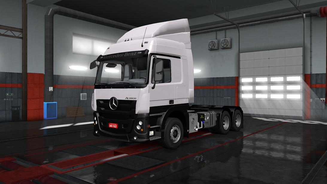 Mercedes Benz Actros 2651 1 31 X Ets2 Mods Euro Truck