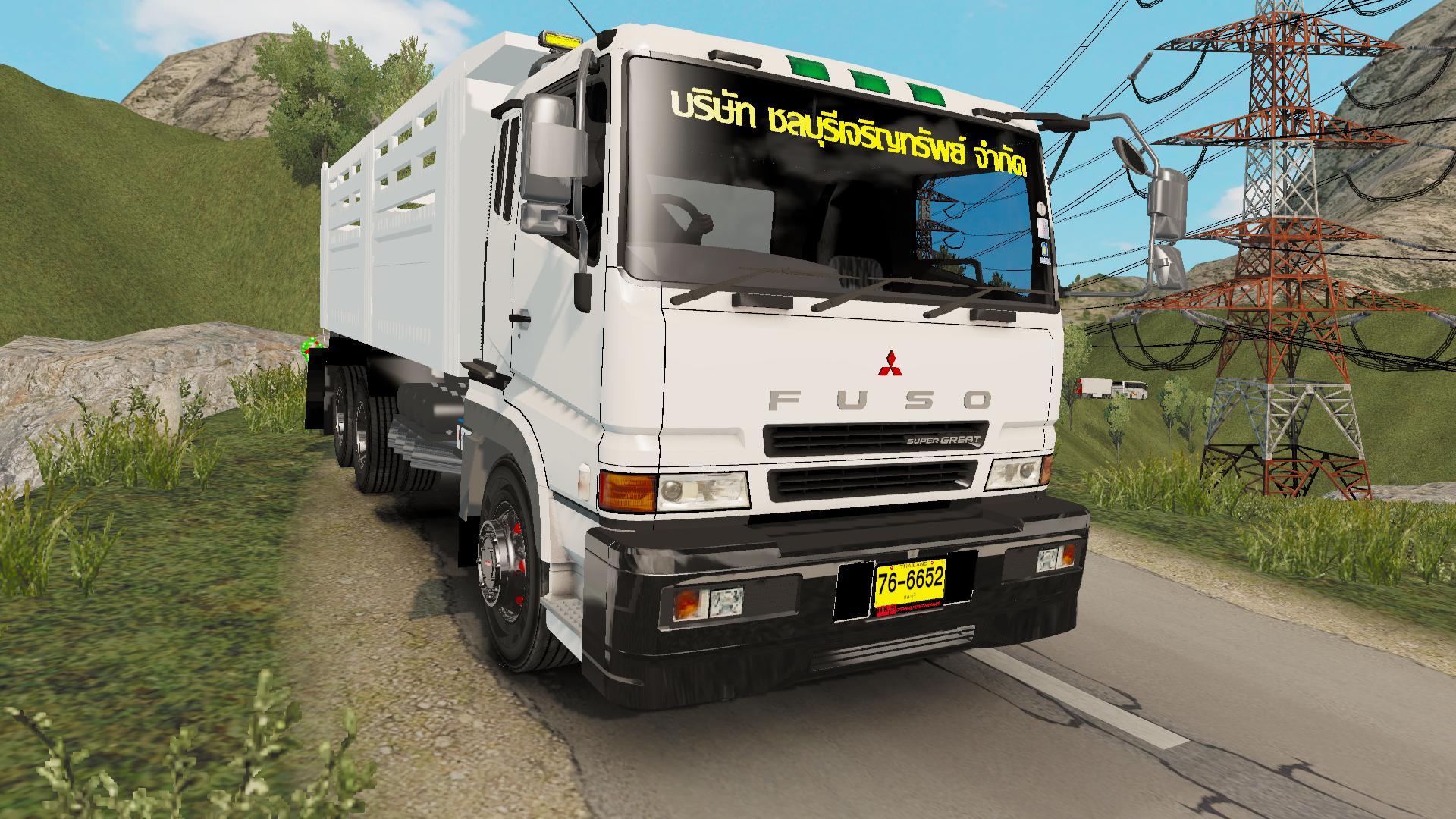 MITSUBISHI FUSO V1 0 1 35 X | ETS2 mods | Euro truck