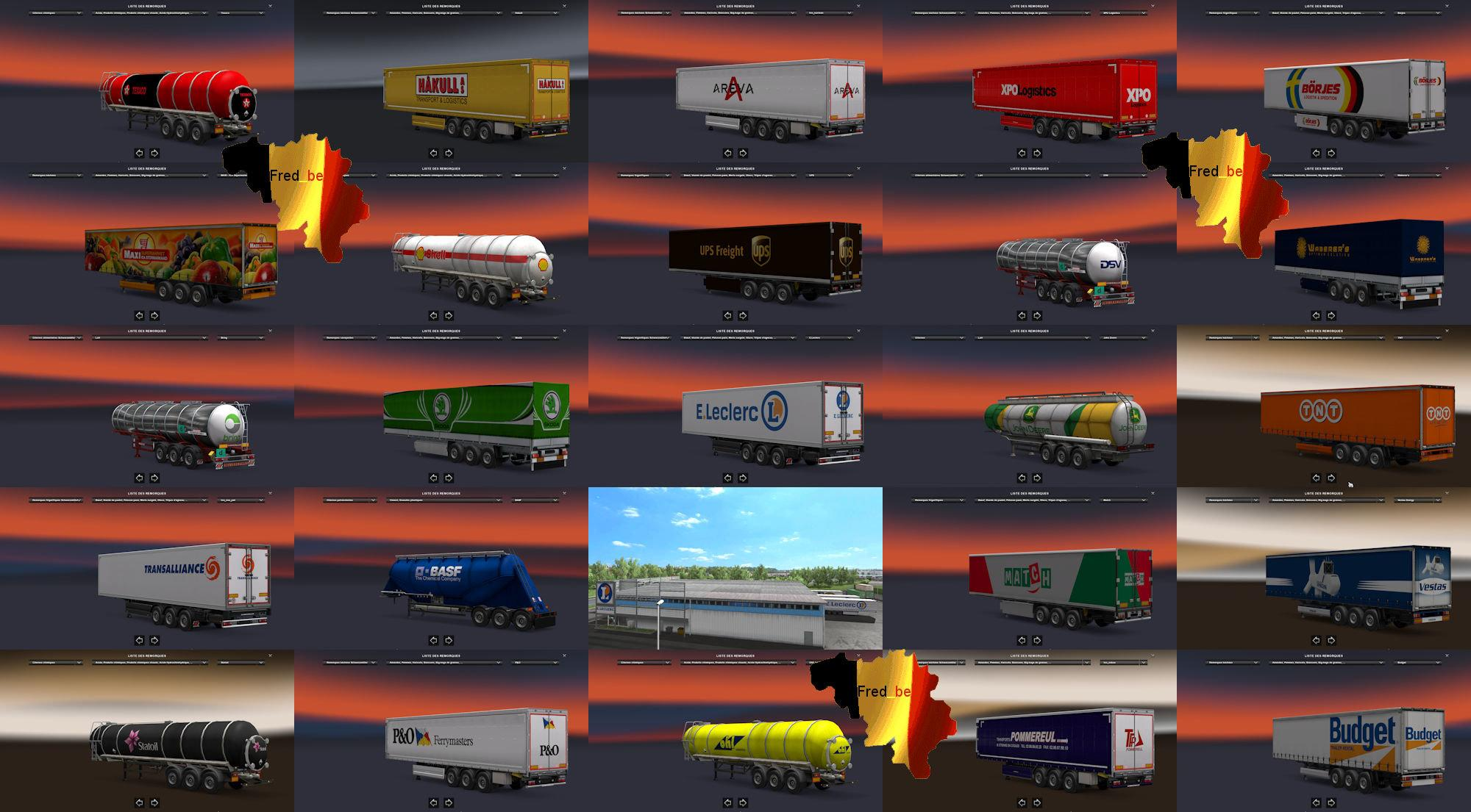 New Companies for all DLC [1 30 x] | ETS2 mods | Euro truck