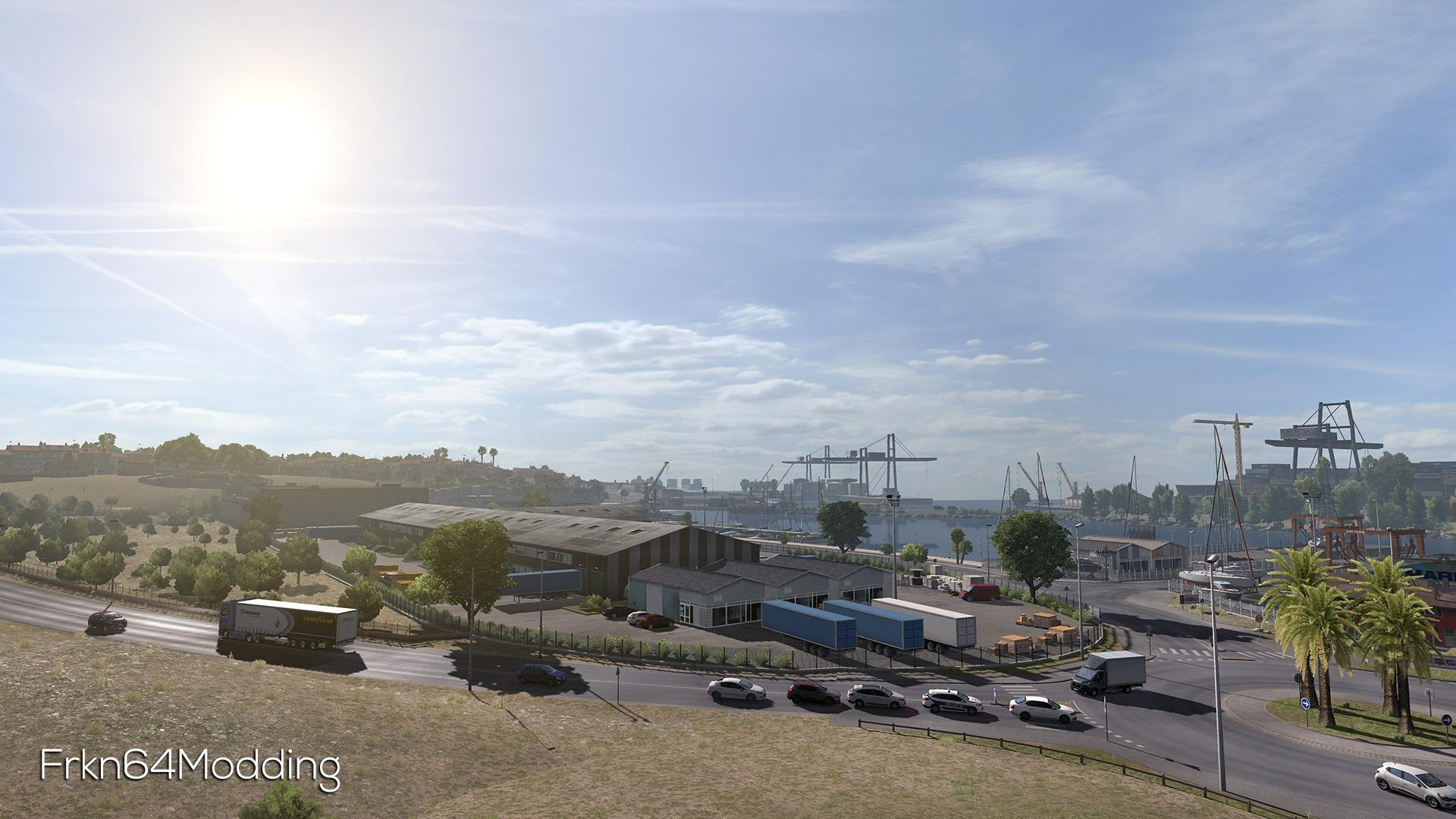 Realistic Graphics Mod v 2 1 – by Frkn64 1 31 x | ETS2 mods | Euro