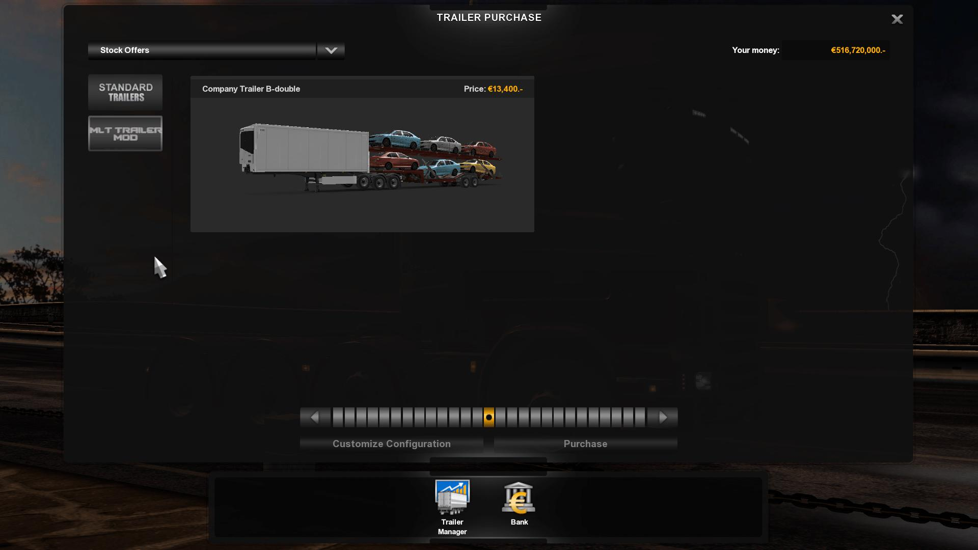Ownable B-Double + CarTransporter 1 35 x | ETS2 mods | Euro