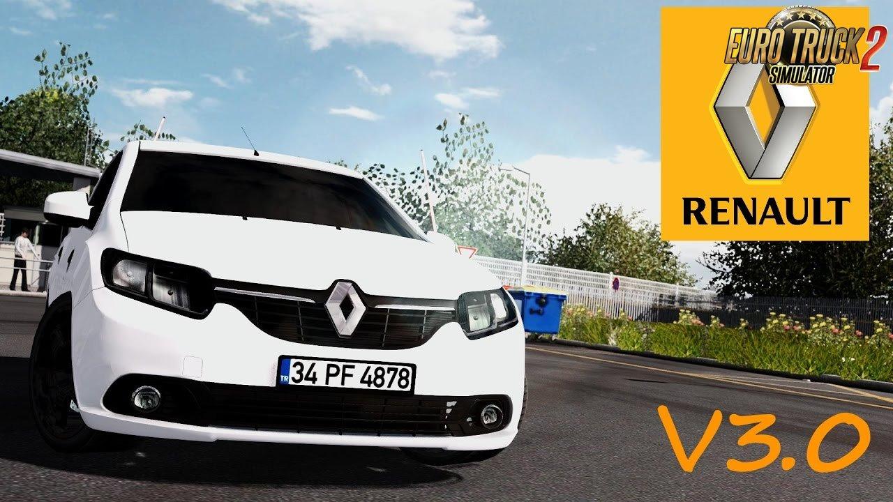 renault symbol 1 5 dci interior v3 0 ets2 mods euro truck simulator 2 mods. Black Bedroom Furniture Sets. Home Design Ideas