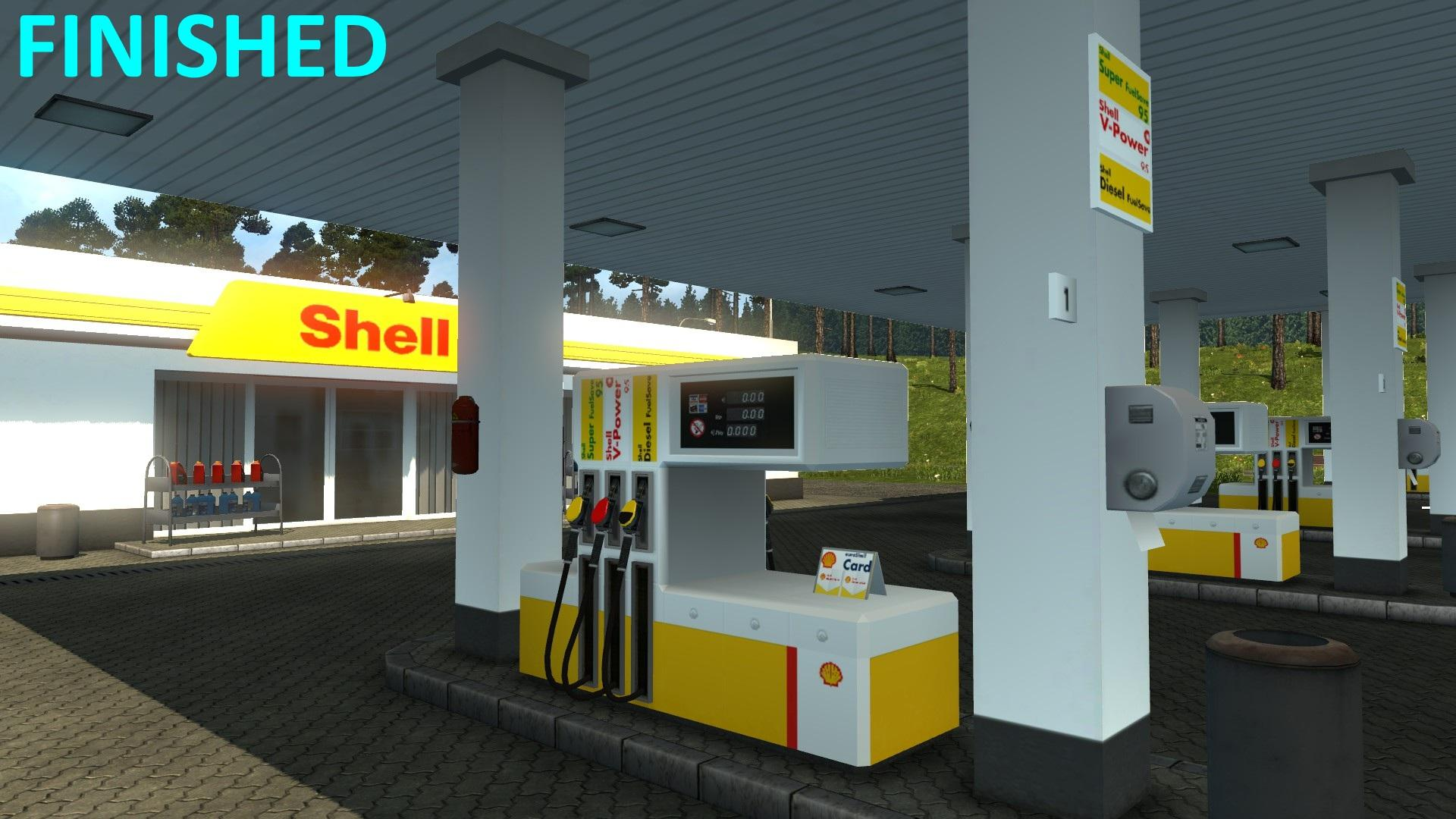REAL EUROPEAN GAS STATIONS RELOADED (03.10.17) | ETS2 mods ...