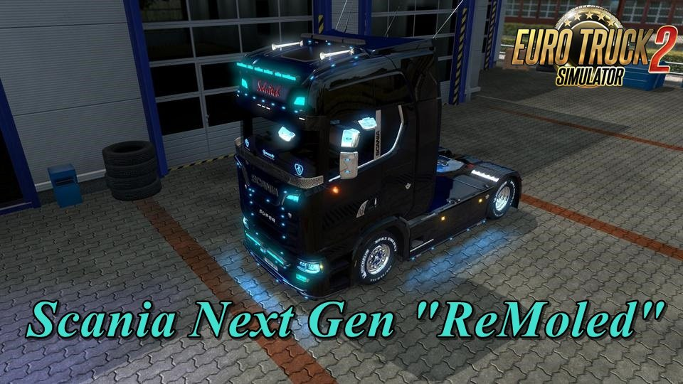 Remoled Next Gen V1 8 1 35 X Ets2 Mods Euro Truck