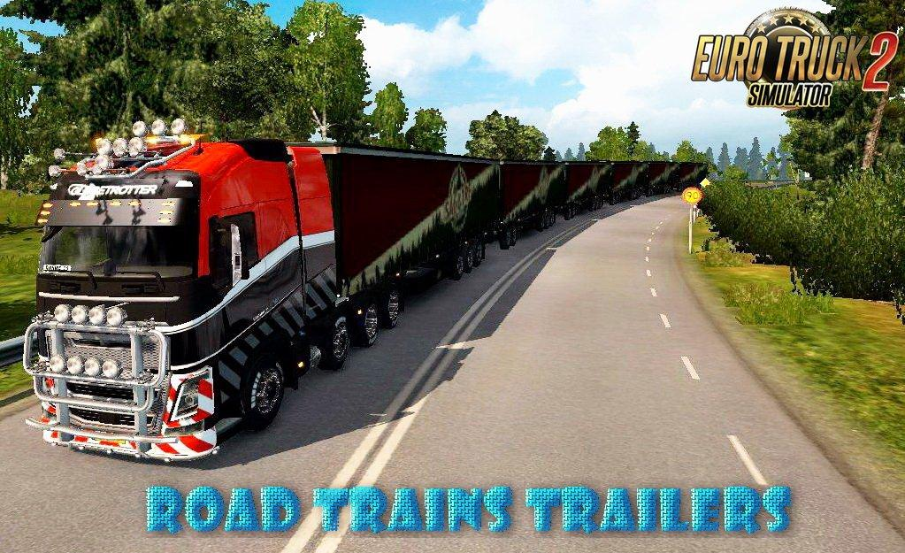 Road Trains Trailers v1 0 [1 31 x] | ETS2 mods | Euro truck