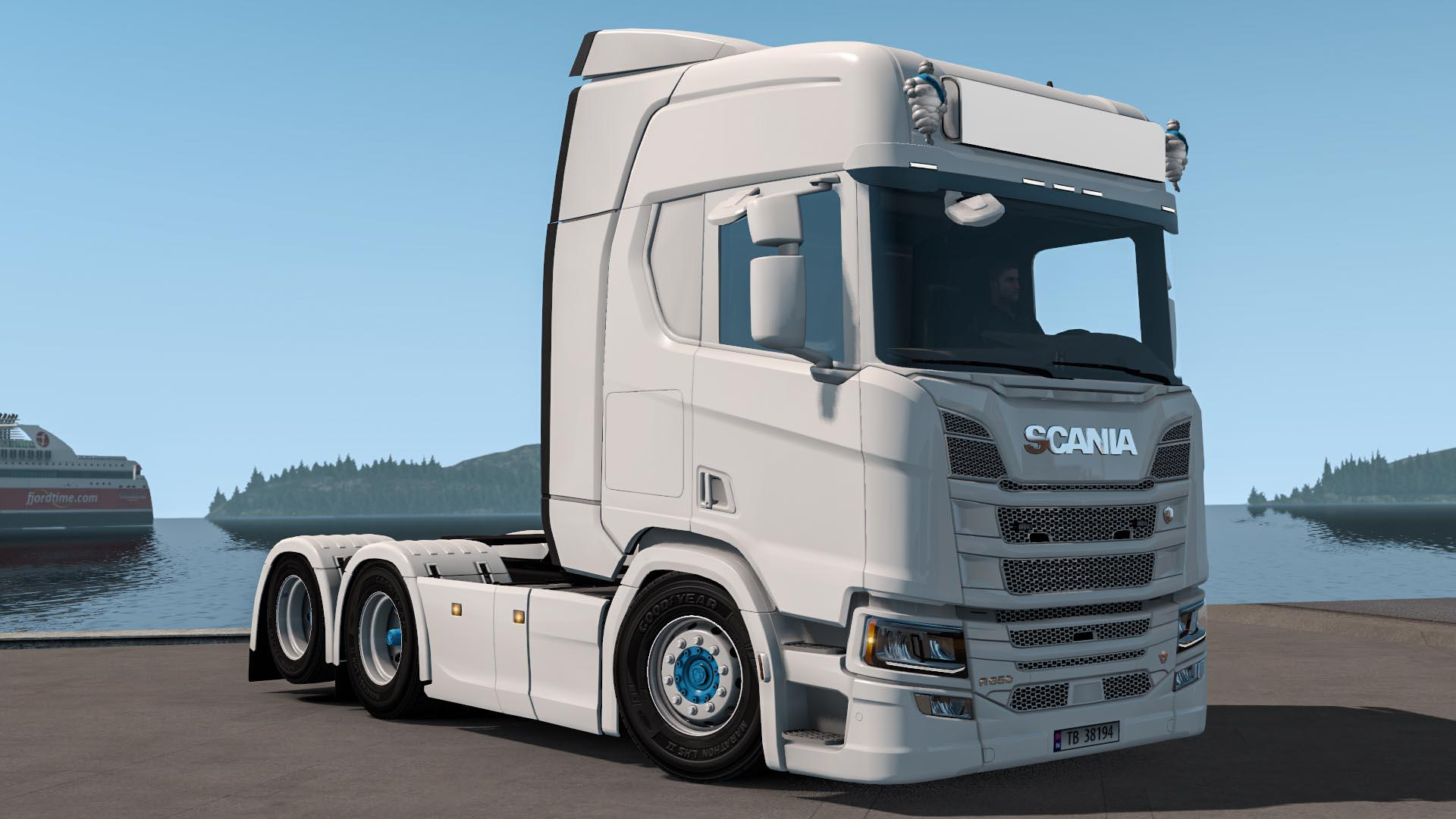 SCANIA NEXTGEN LOWERED 1 34 X | ETS2 mods | Euro truck