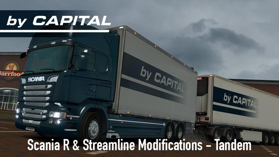 Scania R S By Rjl Tandem By Capital Ets2 Mods Euro