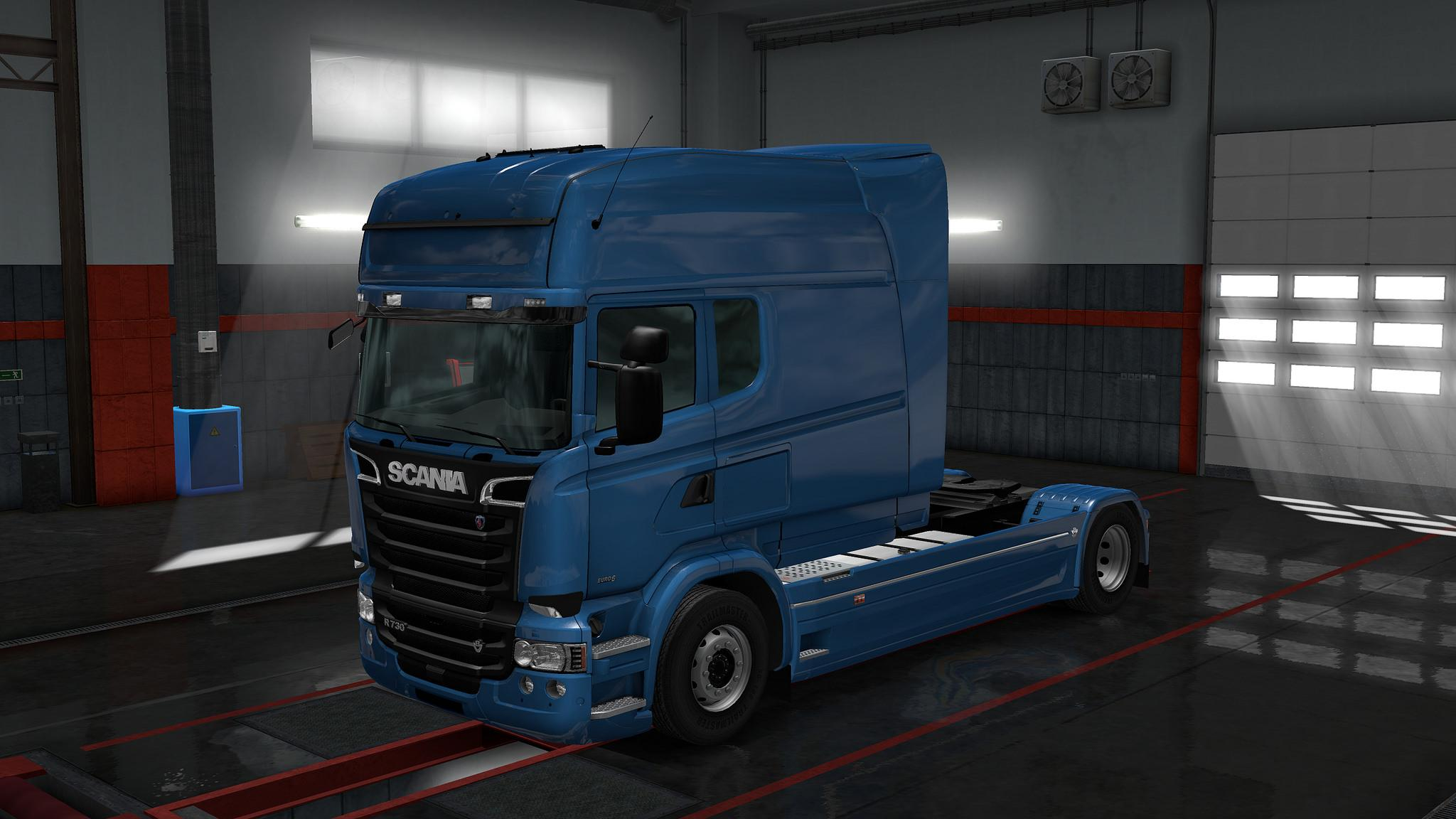 This mod adds the possibility to choose side windows to your cab on both rjls scania r streamline scania t and the 4 series versions