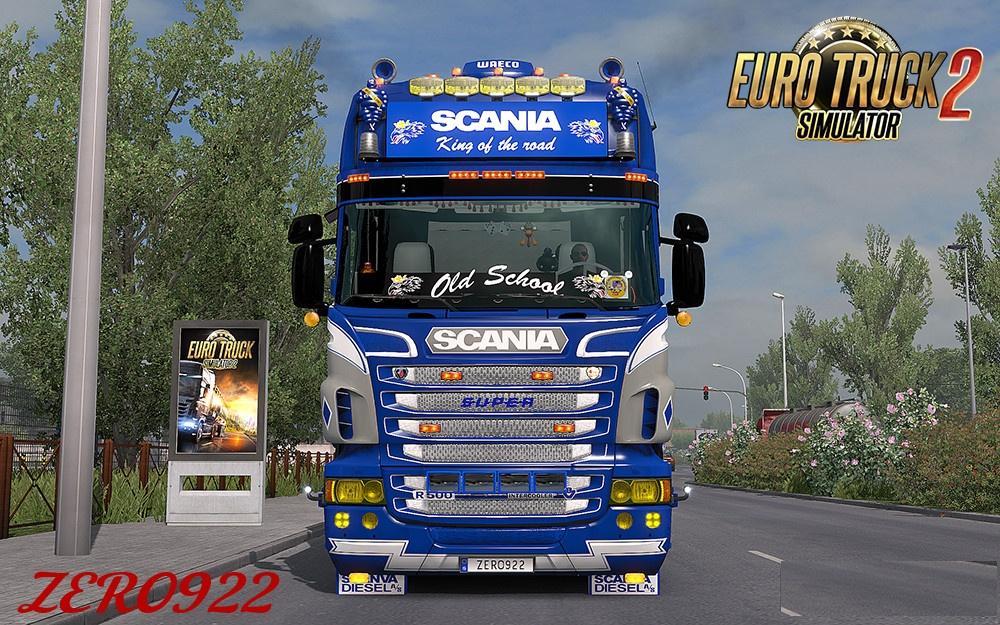 Scania Rs Amp T Rjl Yellow Headlights Ets2 Mods Euro