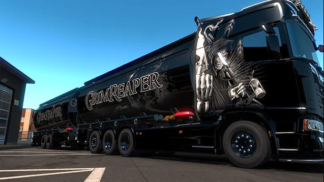 BDF Tandem GrimReaper | ETS2 mods | Euro truck simulator 2 mods