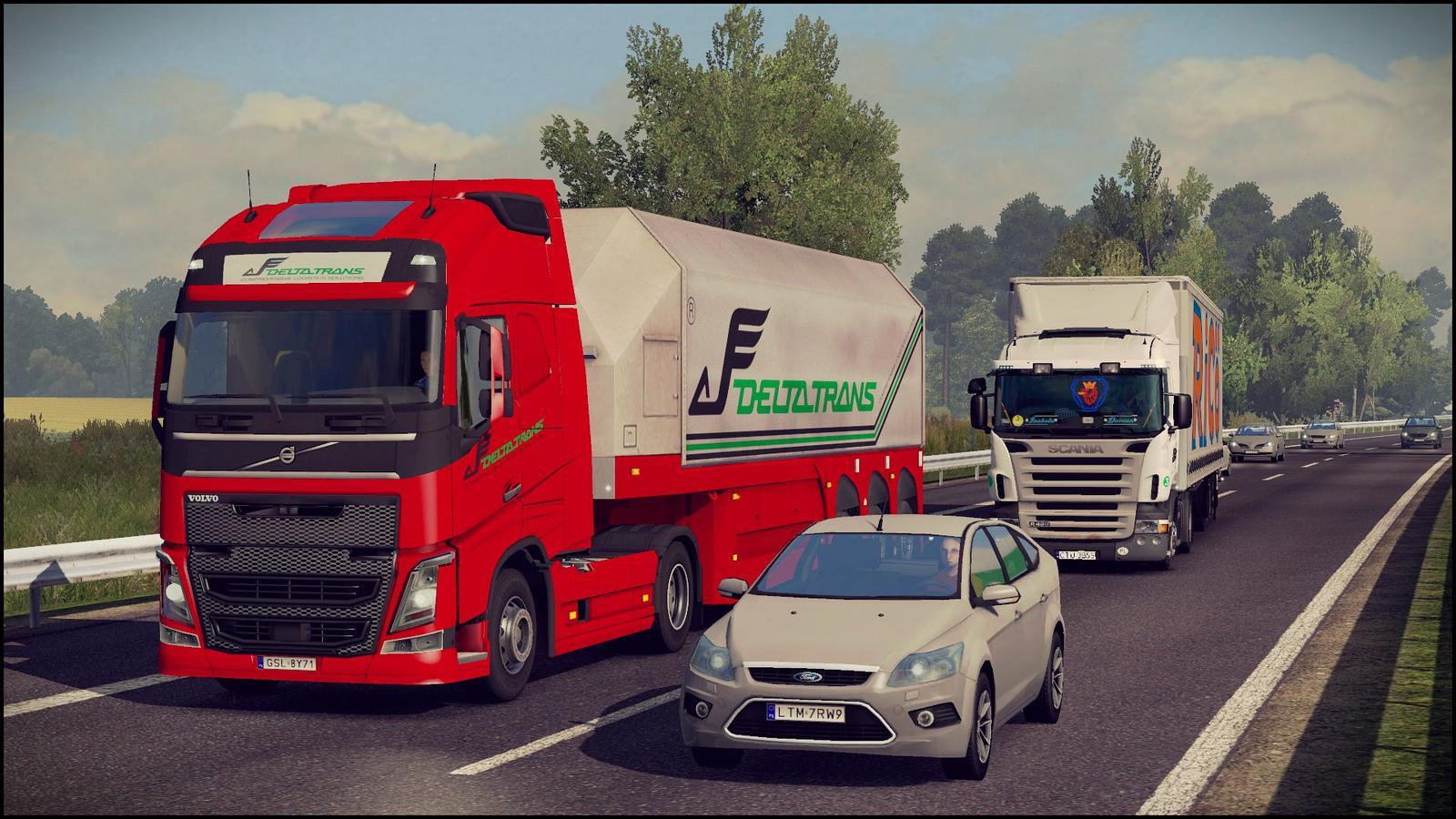 Traffic Density Mod by Steffanie 1 34 x | ETS2 mods | Euro