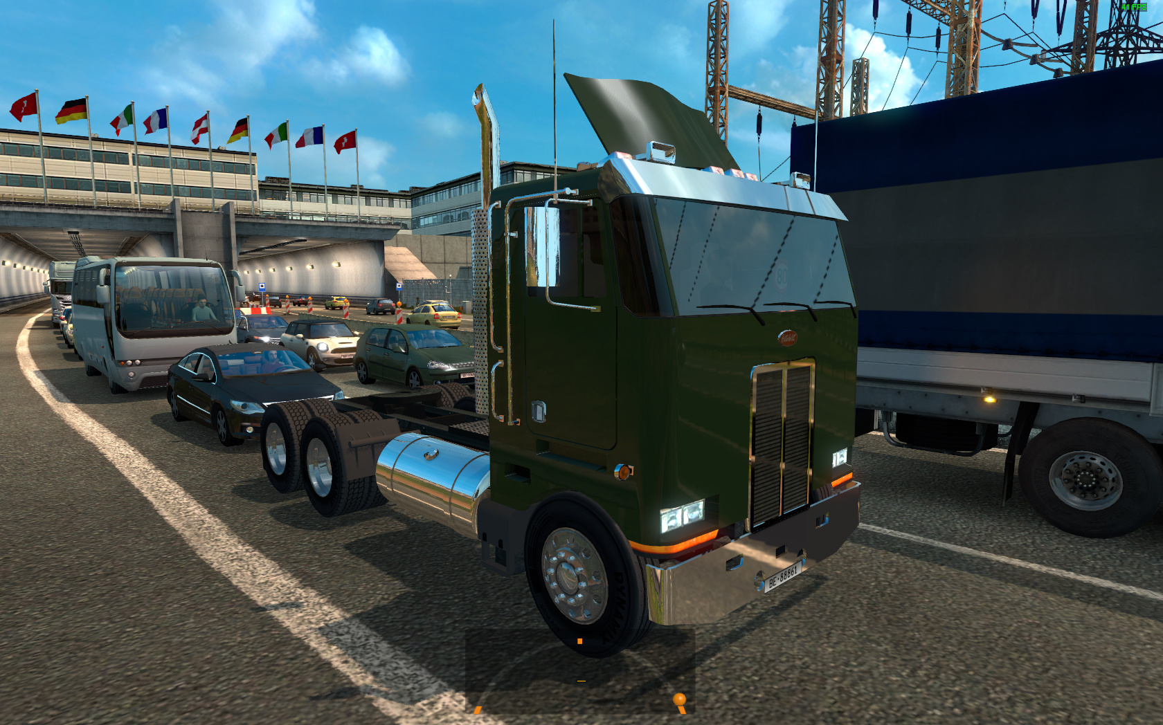 Peterbilt 362 in Traffic for ETS2 | ETS2 mods | Euro truck