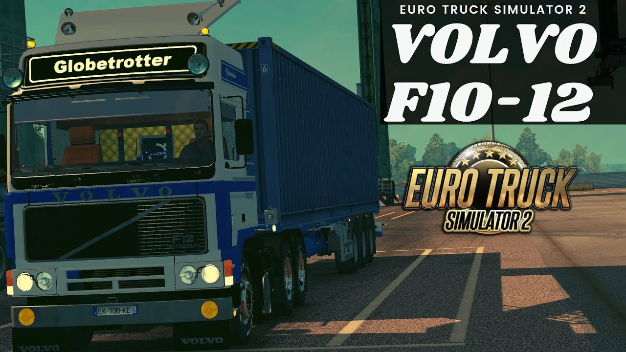 Volvo F10-12 edit by mjtemdark (1 35 x) | ETS2 mods | Euro