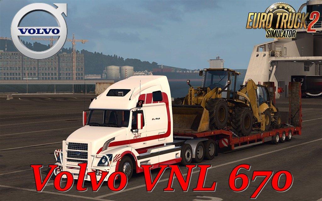 Volvo VNL 670 v1 6 3 by ARADETH (1 35 x) | ETS2 mods | Euro