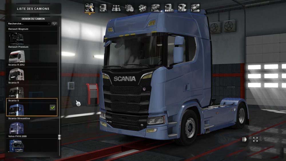 Yellow Light Scania Next Ets2 Mods Euro Truck