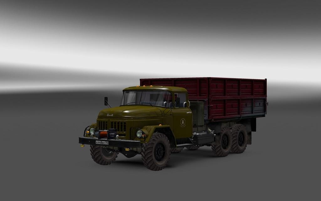 ZIL 130-131-133 [1 27 x]   ETS2 mods   Euro truck simulator